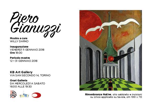 Piero Gianuzzi Mostra Gennaio 2018